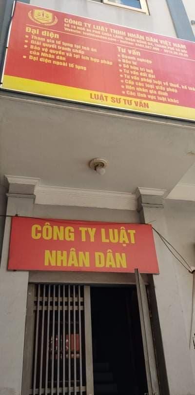Luật Nhân Dân - Công ty Luật uy tín tại Hà Nội - 1