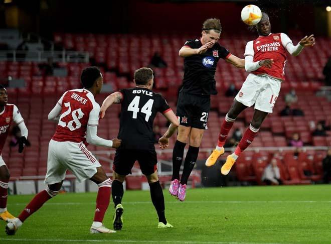 Kết quả bóng đá Europa League, Arsenal - Dundalk: Tấn công dồn dập, choáng váng 2 phút 2 bàn - 1