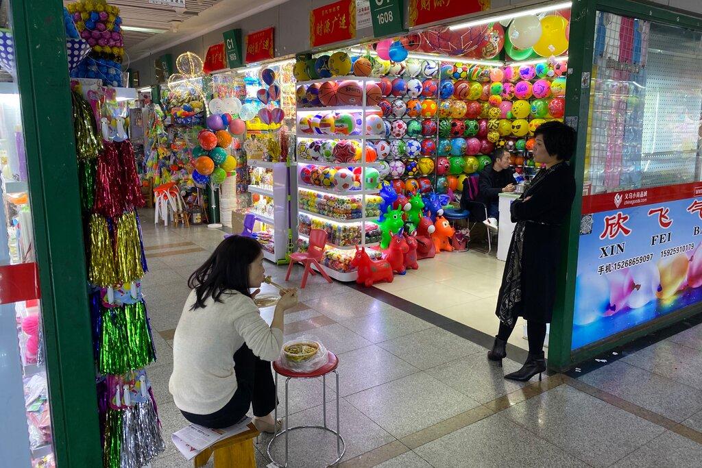Khu chợ Trung Quốc đang báo hiệu trước chiến thắng của ông Trump? - 1