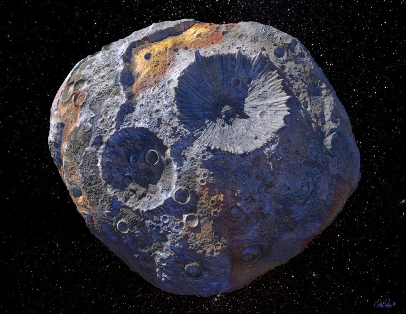 Thông tin mới về tiểu hành tinh trị giá hơn 10.000 triệu tỷ USD - 1