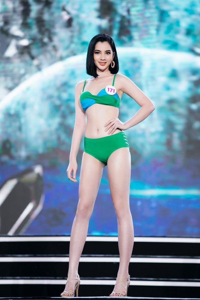 Nữ sinh An Giang 18 tuổi thi hoa hậu: Dáng đẹp nổi trội, fan nô nức xin cưới - 1