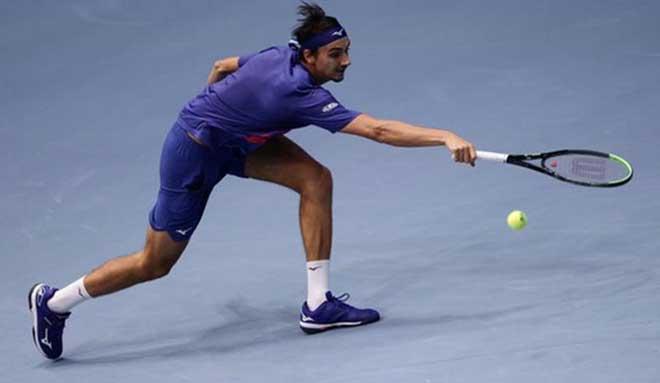 Kẻ thắng sốc Djokovic đoạt vé vào chung kết Vienna Open - 1