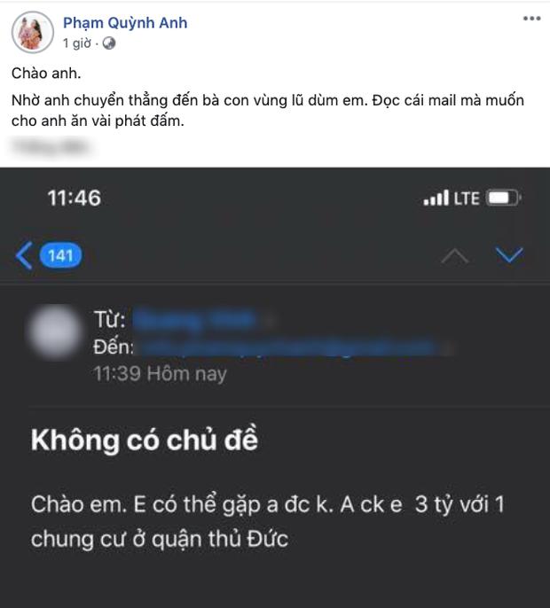 Phạm Quỳnh Anh được người đàn ông lạ tặng 3 tỷ, 1 chung cư và cái kết bất ngờ - 1