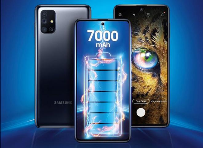 Samsung trình làng Galaxy M51, sở hữu viên pin siêu khủng - 1