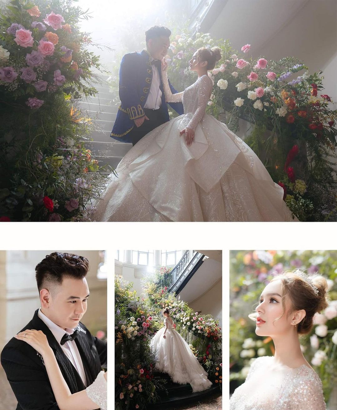"""Hé lộ đám cưới của streamer giàu nhất Việt Nam và vợ hot girl kém 13 tuổi, """"bỏ học từ lớp 10"""" - 1"""