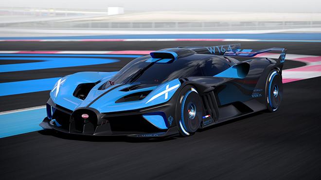 Bugatti Bolide chính thức lộ diện, xe chỉ dành cho đường đua và mạnh 1.800 mã lực - 1