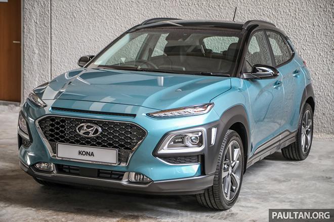 Hyundai Kona 2020 ra mắt tại Malaysia, giá từ 644 triệu đồng - 2