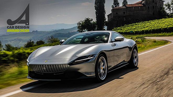 Siêu phẩm Ferrari Roma nhận giải thưởng xe đẹp nhất của năm 2020 - 1