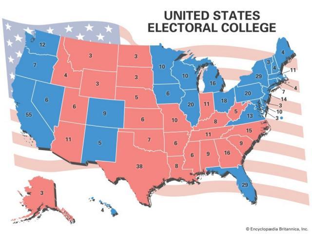 Phiếu đại cử tri Mỹ là gì? Quan trọng ra sao?