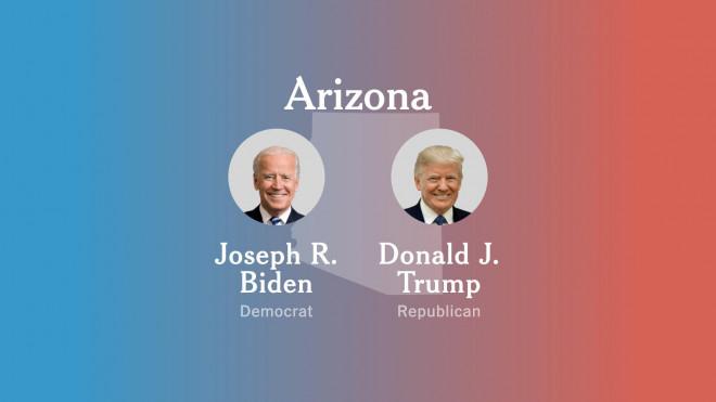 """Số phiếu ủng hộ ông Trump tại bang Arizona tăng, liệu có khả năng """"lội ngược dòng""""? - 1"""