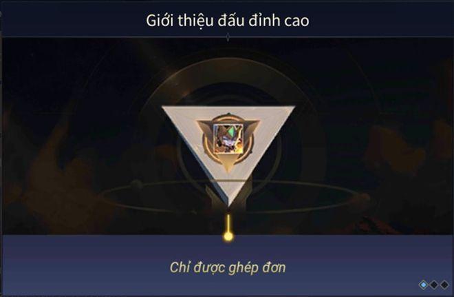 Thất vọng vì trò bẩn của game thủ, Liên Quân Mobile ra mắt chế độ Đấu Đỉnh Cao - 1