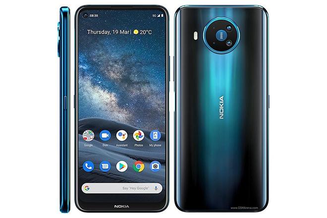 Lộ diện Nokia 8 V với kết nối 5G nhanh bứt phá - 1