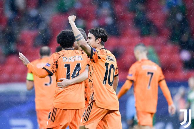 Kết quả bóng đá Cúp C1 Ferencvaros - Juventus: Cảm hứng Ronaldo, thăng hoa ngôi nhì bảng - 2