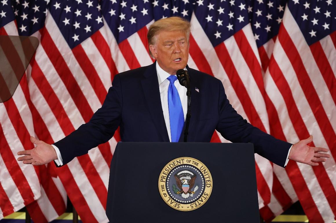 Báo Mỹ: Ông Trump chuẩn bị bắt đầu nhiệm kỳ 2 dù chưa chiến thắng - 1