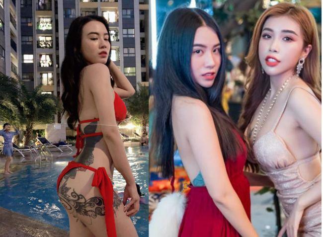 Linh Miu là mỹ nhân thứ 2 hoạt động showbiz có hình xăm cực đại vị trí nhạy cảm.