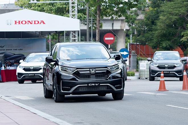 Giá xe Honda CR-V lăn bánh tháng 11/2020, giảm 100% phí trước bạ - 1