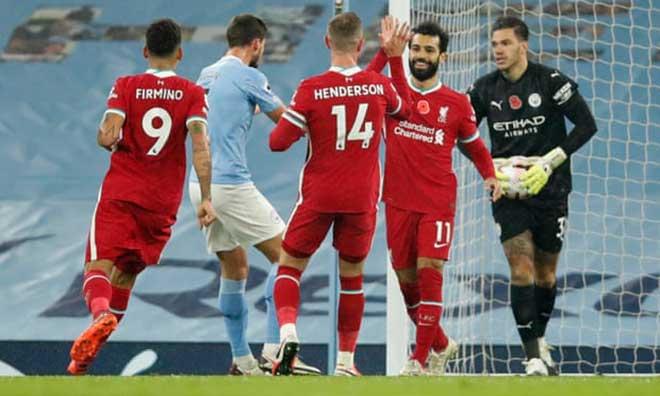 Video highlight trận Man City - Liverpool: Tương phản 2 quả penalty, 60 phút kịch tính - 1
