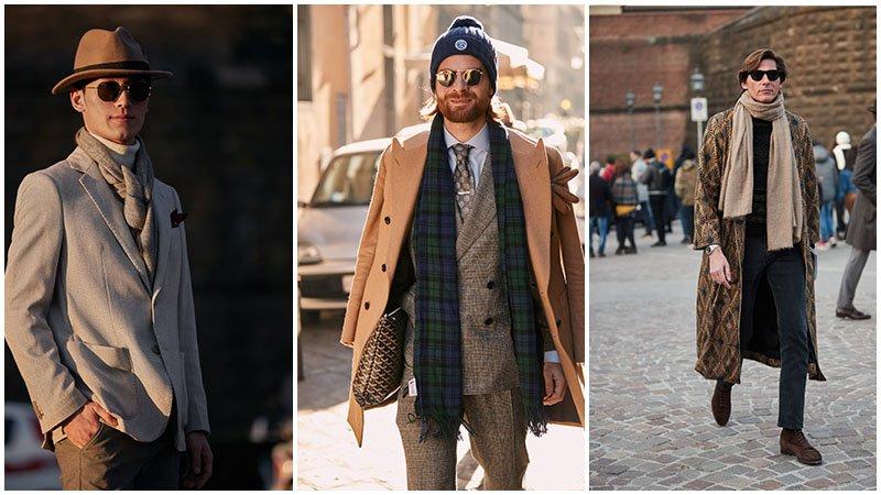 Những chiếc khăn quàng cổ mọi quý ông cần có mùa đông này - 1