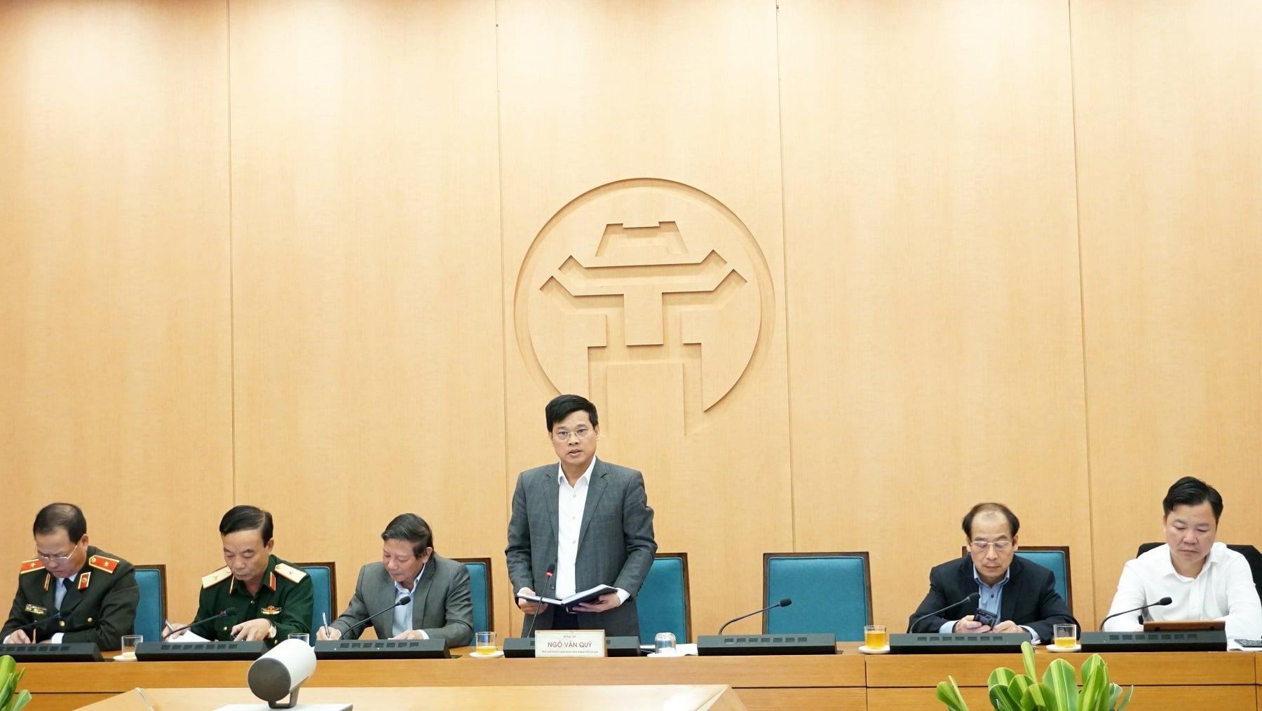 Phó Chủ tịch TP.Hà Nội: Ai không đeo khẩu trang, không được vào chợ - 1