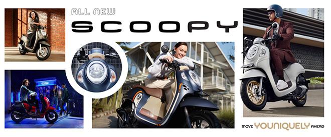 Honda Scoopy-i 2021 ra mắt: Lột xác thiết kế, giá bán 33 triệu đồng - 1