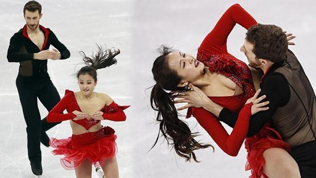 Trang phục là một trong số những yếu tố ảnh hưởng đến đánh giá của ban giám khảo khi các vận động viên trượt băng trình diễn.