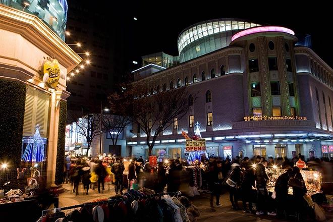 Những khu mua sắm nổi tiếng tại Hàn Quốc - 1