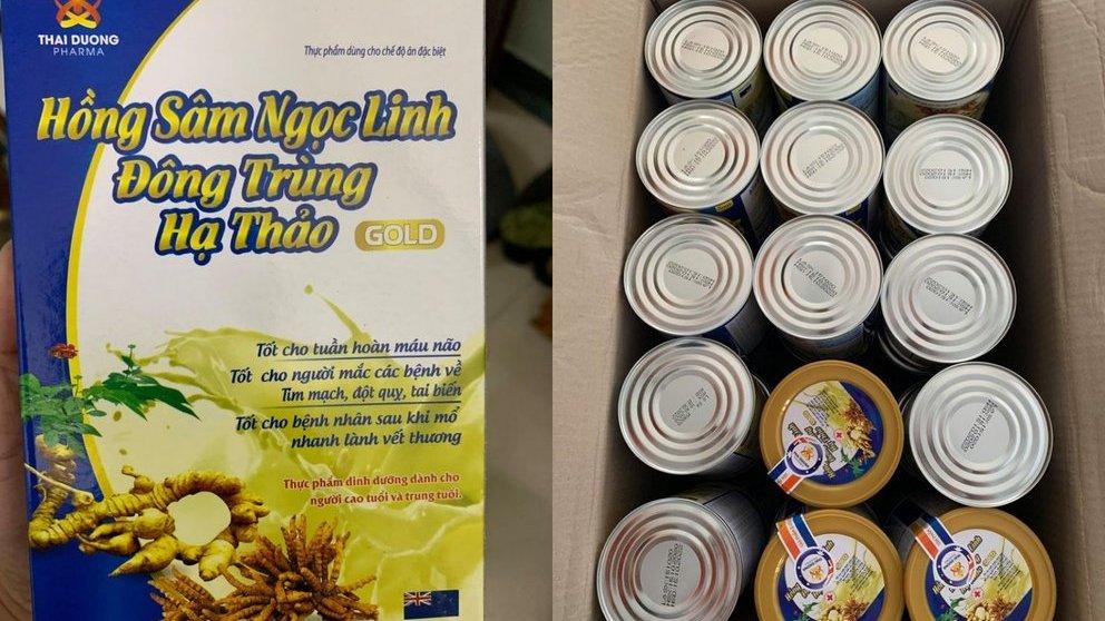 Quảng cáo bán thực phẩm chức năng, công ty bị QLTT bắt giữ tại trận - 1
