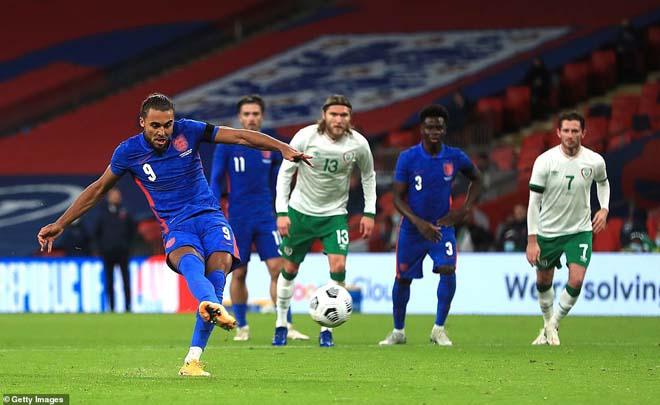 Video highlight trận Anh - CH Ireland: Maguire mở điểm, ấn định bằng penalty - 1
