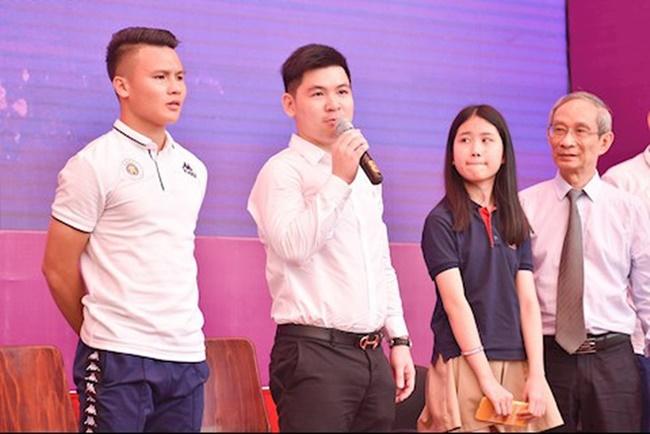 Ông Đỗ Vinh Quang từng học tại Anh, sinh năm 1995.