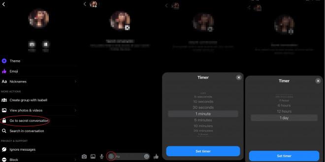 Hướng dẫn cách xoá tin nhắn Messenger tự động trong tích tắc - 1
