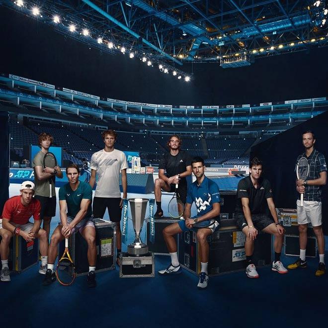 8 anh hào dự ATP Finals: Djokovic săn kỷ lục như Federer, Nadal vượt khó (Bài 1) - 1
