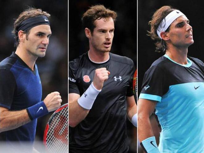 Tin thể thao HOT 14/11: Murray nể phục kỷ lục của Federer và Nadal - 1