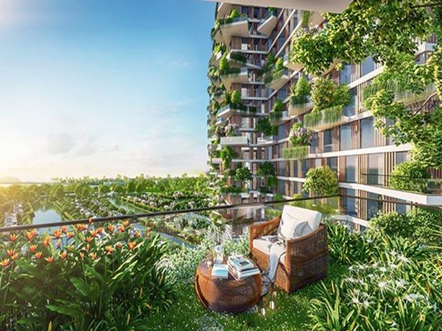 SolForest Ecopark xuất hiện trên trang chủ thời báo CNA của Singapore