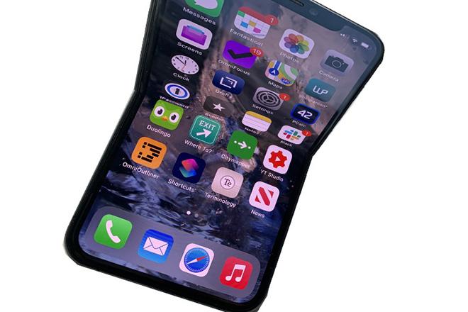 Foxconn đang thử nghiệm iPhone gập lại - 1