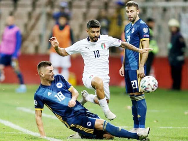Trực tiếp bóng đá Bosnia - Italia: Vỡ òa bàn thắng thứ 2 (Hết giờ)