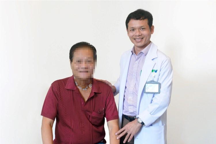 Cứu sống bệnh nhân ung thư tuyến giáp tưởng đã không thể cứu chữa - 1