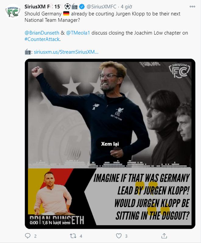 Choáng Đức thua Tây Ban Nha 0-6: Fan gợi ý Jurgen Klopp thay Joachim Low - 2
