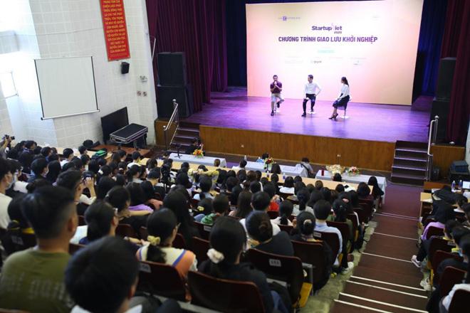 Ông Phạm Văn Tam - Chủ tịch Winsan chia sẻ cách chuẩn bị và bứt phá trong khởi nghiệp với sinh viên - 1