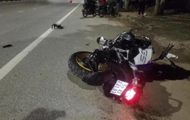 Mô tô phân khối lớn tông xe máy, 3 người thương vong - 1