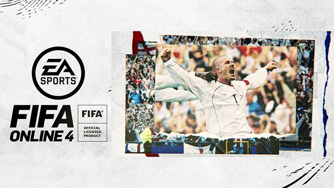 David Beckham chính thức xuất hiện trong Fifa Online 4 - 1