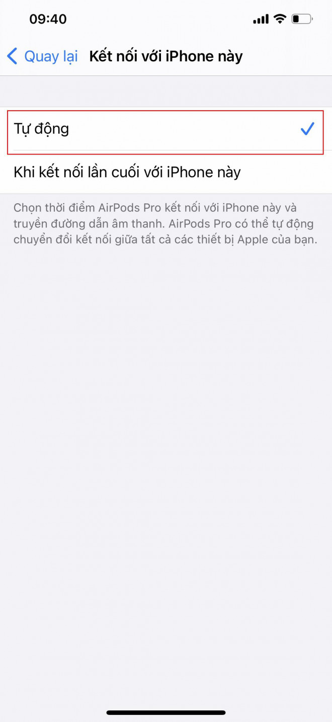 Tips for using AirPods automatically switch between iOS devices - 7