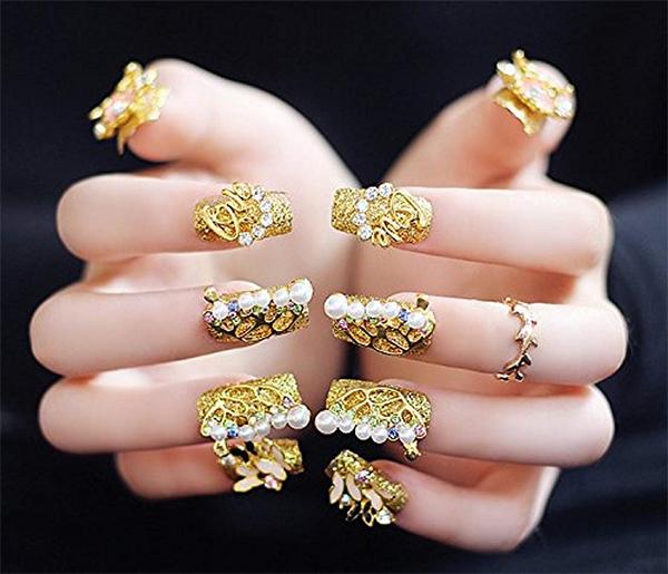 20 mẫu nail đẹp đơn giản cho nữ thêm xinh xắn dẫn đầu xu hướng năm 2021 - 12