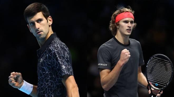 Nhận định ATP Finals ngày 6: Djokovic dốc toàn lực đấu Zverev tranh vé bán kết - 1