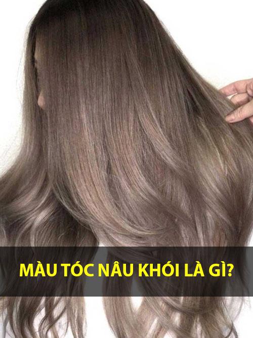 Những màu tóc nâu khói đẹp trẻ trung sành điệu được yêu thích nhất - 1