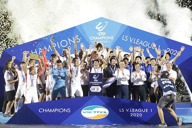 Tranh cãi thể thức thi đấu V-League 2021, VPF chờ VFF phán quyết - 1