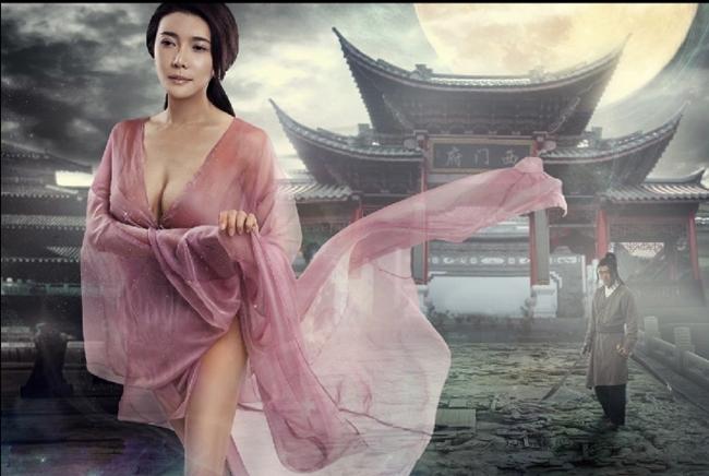 """Dù Tân Kim Bình Mai bị vướng lệnh cấm song tên tuổi Cung Nguyệt Phi lại """"nổi như cồn"""" như bộ phim 18+ ồn ào này."""
