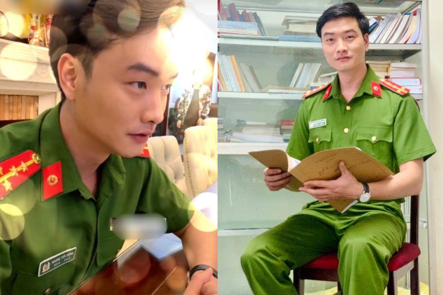 """Công tử """"phim 18+ hot nhất Việt Nam"""" bất ngờ hóa... công an - 4"""