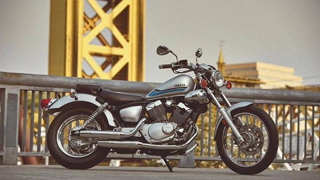 9. Yamaha V Star 250 (giá: 4.349 USD)