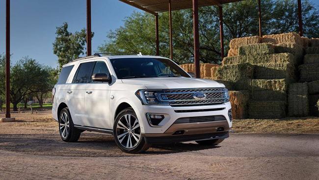 1. Ford Expedition 2020 (giá khởi điểm: 52.810 USD, điểm tổng thể: 8,4/10)