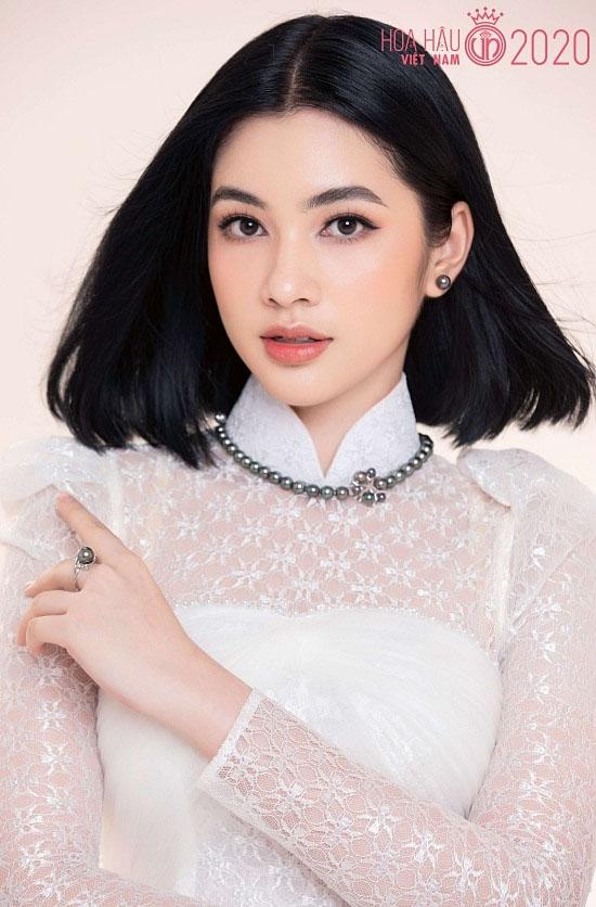 Ngây ngất nhan sắc của người đẹp tóc ngắn nhất Hoa hậu Việt Nam 2020 - 1